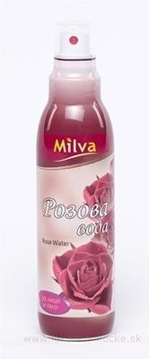 Milva RUŽOVÁ VODA s pumpičkou (Milva Rose Water) 1x200 ml