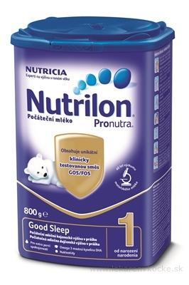 Nutrilon 1 Pronutra Good Sleep mliečna výživa v prášku na dobrú noc (od narodenia) 1x800 g