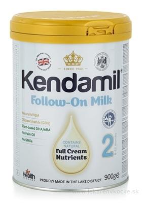 KENDAMIL 2 následné dojčenské mlieko s DHA (6 - 12 mesiacov) 1x900 g