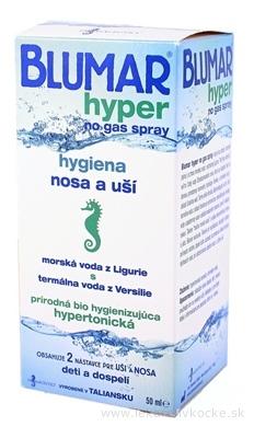 BLUMAR hyper hygiena nosa a uší, sprej 1x50 ml
