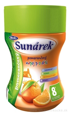 Sunárek instantný nápoj pomarančový (od ukonč. 8. mesiaca) 1x200 g