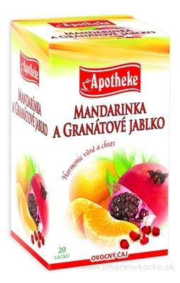 APOTHEKE PREMIER SELECTION ČAJ MANDAR.+GRAN.JABL. 20x2 g (40 g)