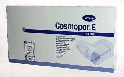 COSMOPOR E STERIL náplasť sterilná s mikrosieťkou (20x10 cm) 1x25 ks