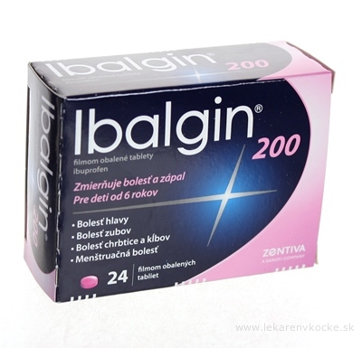 Ibalgin 200 tbl flm 200 mg (blis. PVC/Al) 1x24 ks