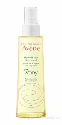AVENE BODY HUILE DE SOIN ošetrujúci telový olej pre všetky typy citlivej pleti 1x100 ml