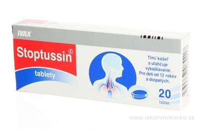 STOPTUSSIN tablety tbl (blis.Al/PVC) 1x20 ks