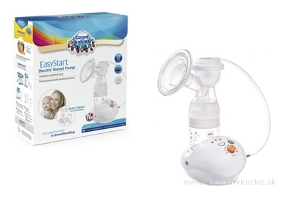 Canpol Babies EasyStart Elektrická odsávačka materského mlieka 1x1 set