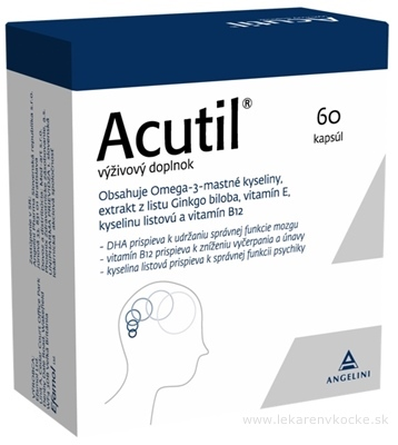 Efamol Ltd. ACUTIL 60 cps