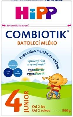 HiPP 4 JUNIOR Combiotik mliečna batoľacia výživa (od 2 rokov ) 1x500 g