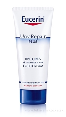 Eucerin UreaRepair PLUS Krém na nohy 10% Urea 1x100 ml
