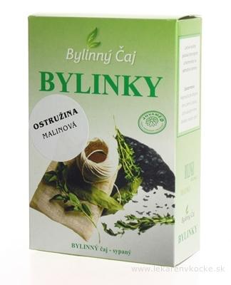 JUVAMED OSTRUŽINA MALINOVÁ - LIST bylinný čaj sypaný 1x40 g