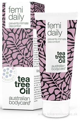 ABC Tea Tree Oil FEMI DAILY - Denný Intim femi gél 1x100 ml