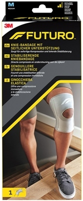 3M FUTURO stabilizačná bandáž na koleno veľkosť M, (46164) 1x1 ks