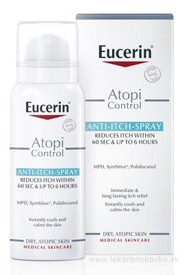 Eucerin AtopiControl Sprej proti svrbeniu suchá a atopická pokožka 1x50 ml