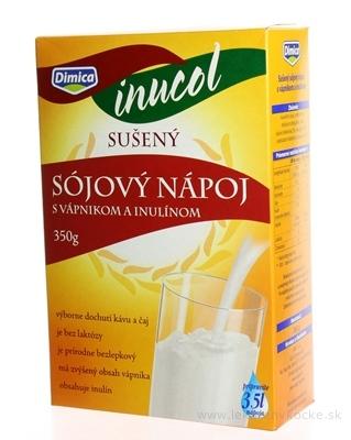 asp SÓJOVÝ NAPOJ INUCOL sušený, s vápnikom a inulínom, 1x350 g