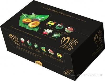 Majestic Tea MAXI kolekcia čajov: 6 druhov po 10 nálevových vrecúšok 1x60 ks (135 g)