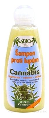 BC BIO Cannabis Šampón proti lupinám 1x260 ml