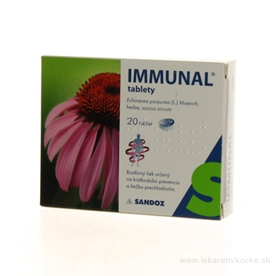 IMMUNAL tablety tbl 80 mg (blis.PVC/PVDC/Al) 1x20 ks