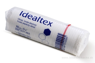 IDEALTEX ovínadlo elastické dlhoťažné (10cm x 5m) 1x1 ks