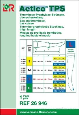 ACTICO TPS L NORMAL elastické pančuchy stehenné 1x1 pár
