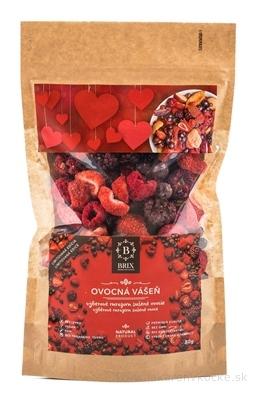 BRIX Ovocná vášeň (výberové mrazom mrazené sušené ovocie) rodinné balenie 1x80 g