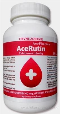AcePharma AceRutín cps (želatínové tobolky) 1x60 ks