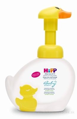 HiPP BabySANFT Pena na umývanie sensitiv (dávkovač kačička) 1x250 ml