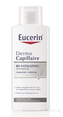 Eucerin DermoCapillaire proti vypadávaniu vlasov šampón (re-vitalizing) 1x250 ml