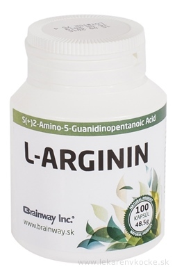 Brainway L-ARGININ cps 1x100 ks