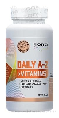aone Nutrition DAILY A-Z Vitamins tbl 1x150 ks