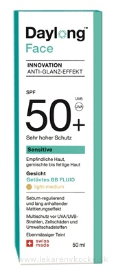 Daylong Sensitive Face SPF 50+ tónovaný (getöntes) BB fluid 1x50 ml