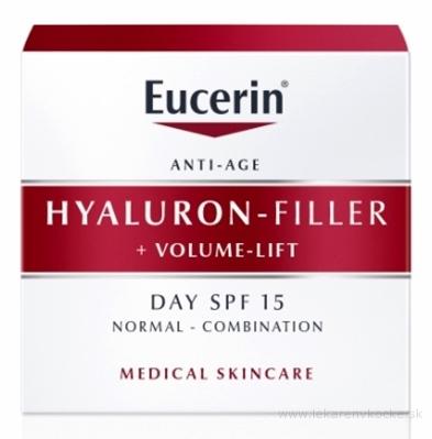 Eucerin HYALURON-FILLER+Volume-Lift Denný krém Anti-Age, pre normálnu pleť 1x50 ml
