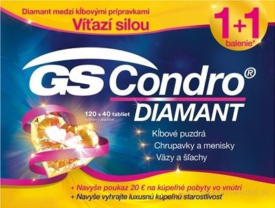 GS Condro DIAMANT + darček 2018 tbl 120+40 (160 ks) + darčekový poukaz, 1x1 set