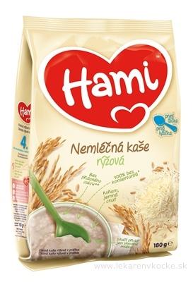 Hami nemliečna kaša ryžová prvá lyžička (od ukonč. 4. mesiaca) 1x180 g
