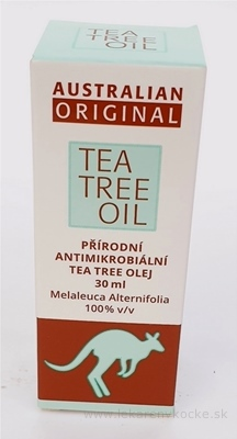 AUSTRALIAN ORIGINAL TEA TREE OIL 100% 1x30 ml