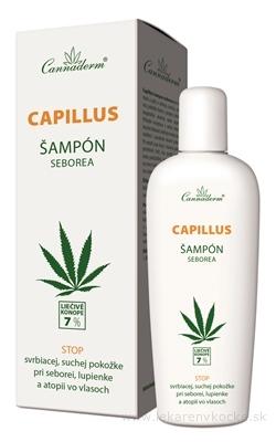 Cannaderm CAPILLUS - šampón seborea 1x150 ml