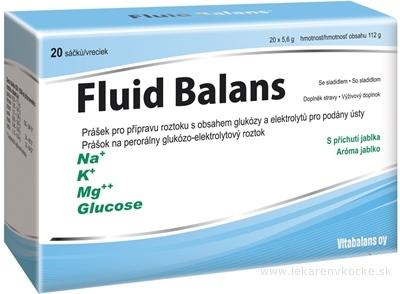 Vitabalans Fluid Balans vrecúška 1x20 ks