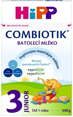 HiPP 3 JUNIOR Combiotik 500g