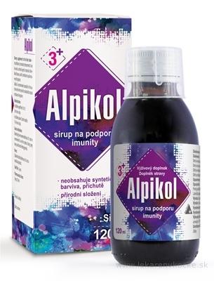 Alpikol sirup na podporu imunity 1x120 ml