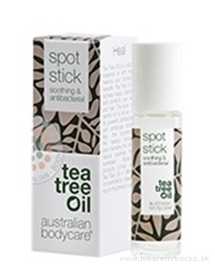 ABC Tea Tree Oil SPOT STICK - Hojivá tyčinka roll-on (inov. obal 2018) 1x9 ml