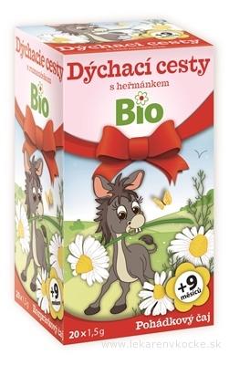 APOTHEKE ROZPRÁVKA Dýchacie cesty s rumančekom Bio bylinný čaj (od ukončeného 9. mesiaca) 20x1,5 g (30 g)