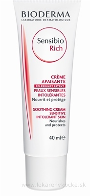 Bioderma Sensibio Rich Soothing Cream 40 ml