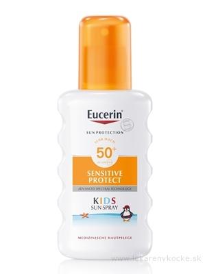 Eucerin SUN SENSITIVE PROTECT SPF 50+ detský sprej na opaľovanie 1x200 ml