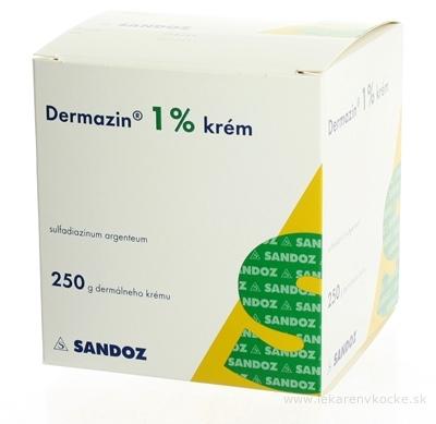 DERMAZIN 1 % krém crm der (nádoba plast.) 1x250 g