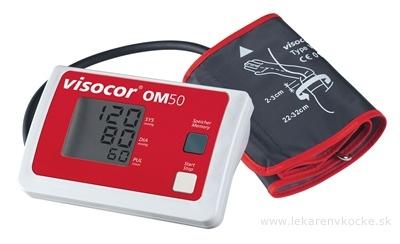 TONOMETER VISOCOR OM50 tlakomer digitálny automatický na rameno 1x1 ks