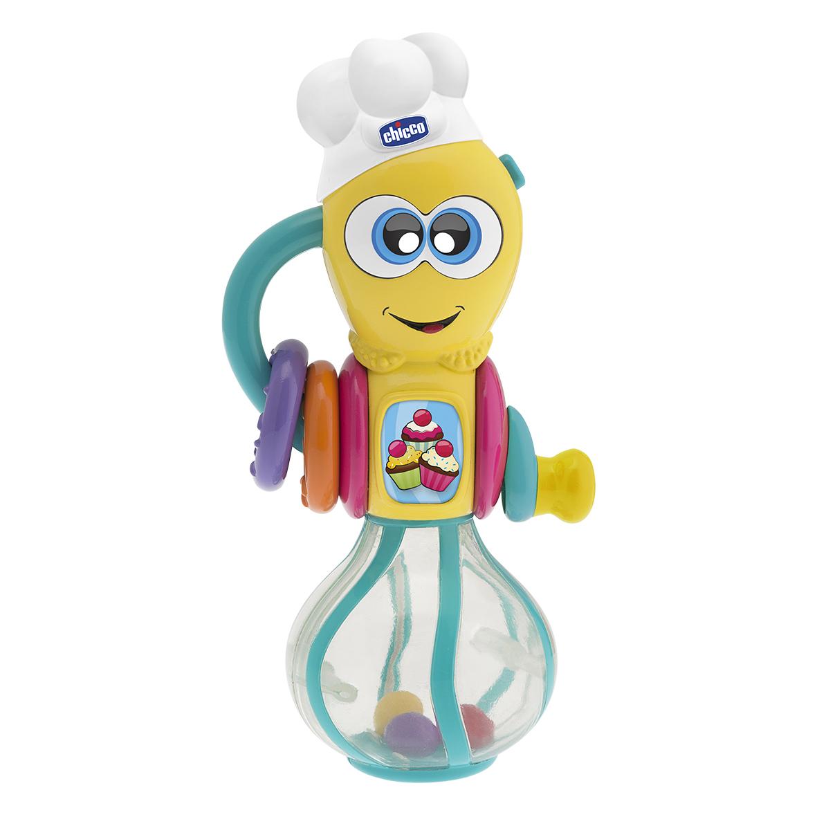 Hrkálka kuchárik robot elektronická 6m+