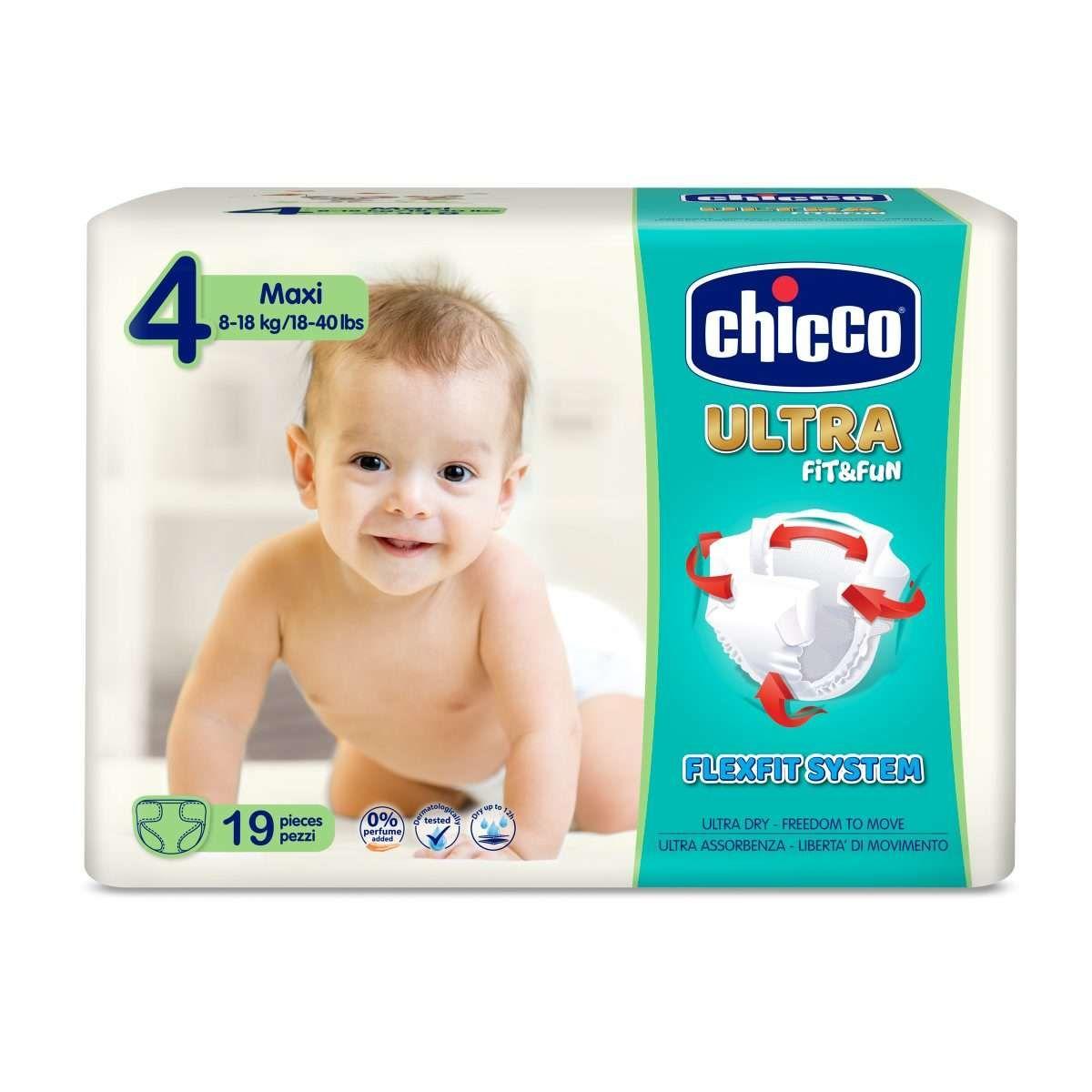 Plienky Chicco Ultra Maxi 8-18kg 19ks