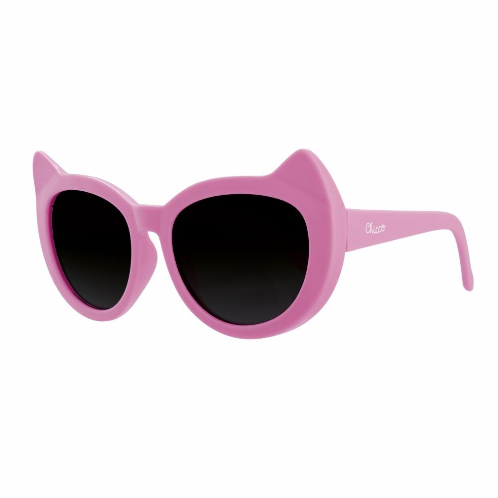 Okuliare slnečné dievča bl. ružové 36M+