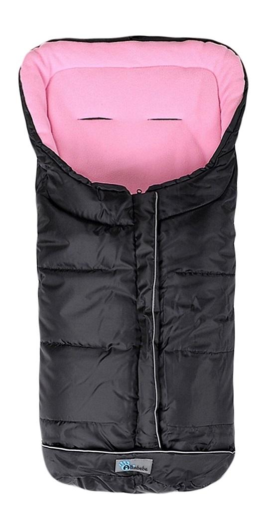Fusak zimný Easy Lux čierno - ružová