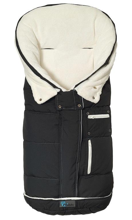 Fusak zimný rozšířitelný TOP Guard čierno - biela